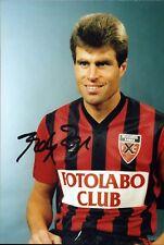 ANDRE Andy EGLI Suisse-Football Original Autographe Autograph Photo (d-3029