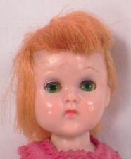 Vogue Ginny Doll Wee Imp Hard Plastic Bend Knee Walker Orange Hair Green Eyes