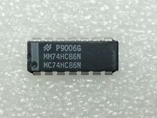 MM74HC86N NSC IC GATE XOR 4CH 2-INP 14-DIP 10 PIECES