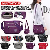 Women Female Nylon Shoulder Bag Crossbody Messenger Pocket Bags Handbag  🔥❤