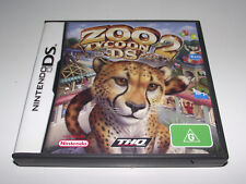 Zoo Tycoon 2 Nintendo DS 2DS 3DS Game