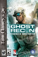 Ghost Recon Advanced Warfighter 1 PC Games Windows 10 8 7 XP Computer fps