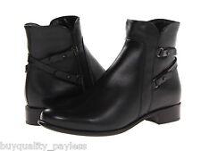 La Canadienne Sharon WATERPROOF Leather Ankle Zip Boots Women's 8.5 NEW IN BOX