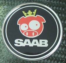 "3d 2.5"" Saab rally pig badge emblem replacement sticker decal 9-3 9-5 95 93"