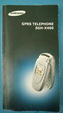 Samsung GPRS Telephone SGH-X460 user guide