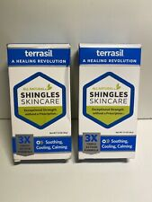 2-Pack - Terrasil Shingles Skincare Ointment 1.5oz (45g) each Exp 03/2022