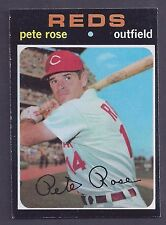 1971 Topps #100 Pete Rose Cincinnati Reds EX-MT