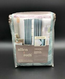 Allen + Roth Taventry Mineral Grommet Top Blackout Panel 0792515 50 in x 84 in