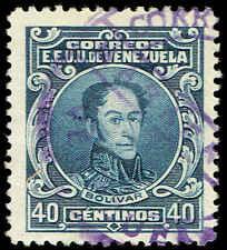 Scott # 278 - 1924 - ' Simon Bolivar '