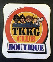 TKKG Club Boutigue Aufkleber / Sticker ca. 8,3 x 7,5 cm