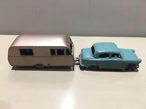 Lesney No.36 Austin A50 & No.23 Bluebird Dauphine Caravan Excellent!