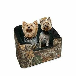 K&H PET PRODUCTS Bucket Booster Pet Seat - Elevated Pet Booster Seat Large Re...