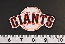 FREE SHIPPING MLB San Francisco Giants Iron On Fabric Applique Patch Logo DIY