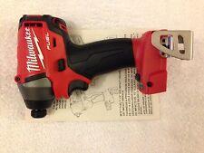"New Milwaukee Fuel M18 2653-20 18V Li-ion 1/4"" Brushless 3 Speed Impact Driver"