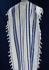 NEW,KOSHER  Tallit / Talit / Tallis 100% Pure Wool Israel Adults / Bar Mitzvah