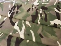 British Army Multi-Terrain Pattern, MTP, Fabric, Poly-Cotton By The Metre, Camo