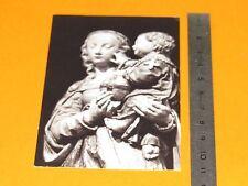 CHROMO 1970-1980 CATHOLICISME IMAGES PIEUSES STATUE VIERGE MARIE ENFANT JESUS