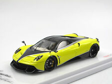 "TSM Model 2016 Pagani Huayra ""Pacchetto Tempesta"" yellow/Carbon black 1:43"