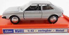 RARE SCHUCO ZERLEGBAR 1974 VW SCIROCCO MK 1 METALLIC SILVER & ORIGINAL BOX