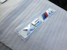 Emblem Badge Rear Chrome Genuine OEM for BMW X5 M Sport Hybrid OEM F85 xDrive