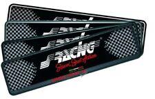 PTX/4AN Portatarga Anteriore Soft Touch, Nero Simoni Racing