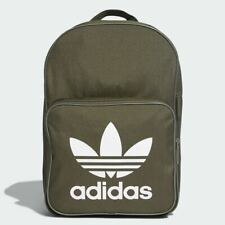 Adidas Originals Classic Trefoil Backpack Rucksack Bag - DW5187 - Green