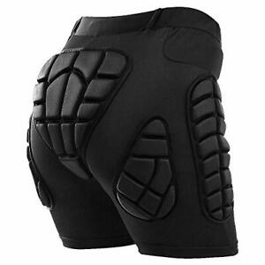 TOMSHOO Protective Padded Shorts Hip Butt Pad Impact Resistance Breathable