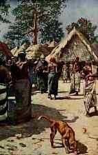 A4 Photo Johnston Sir Harry 1912 The Devil visiting a Mandingo town Print Poster