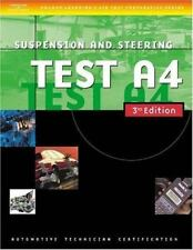Automotive ASE Test Preparation Manuals, 3E A4: Suspension and Steering [ASE Aut