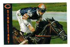 SINGLETARY,THOROUGHBRED RACEHORSE, WON BREEDERS CUP MILE TWICE POSTCARD
