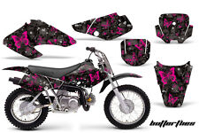 Honda Graphic Kit AMR Racing Bike Decal XR 70/50 Decal MX Part 01-03 BFLY PINK