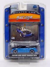 Artículos de automodelismo y aeromodelismo Greenlight color principal azul Dodge