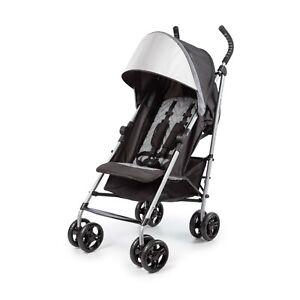 Summer 3Dlite ST Convenience Stroller, Heather Grey