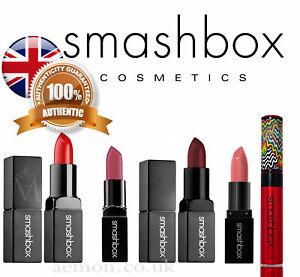 Smashbox Be Legendary lipstick Get Fired-red,Primrose,Crimson Chrome 8ml GENUINE