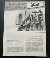 Vintage SPECIAL APPLAUSE Issue THE VICTORS 1964 Peppard Hamilton MPAA Mailer