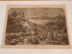 After the Battle The Rebels in Posession of the Field 1862 Civil War Thomas Nast