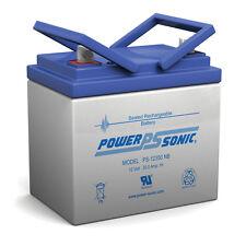 Power-Sonic 12V 35AH SLA Battery Replaces 33ah Enersys Genesis NP33-12