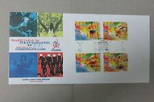 Malaysia 1996 Commanwealth Game Stamp FDC Melaka Cancellation