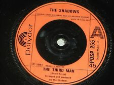 "The Shadows:  The Third Man   UK  7""   near mint"