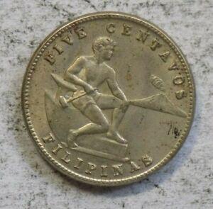 Philippines 1944 5 Centavos Coin