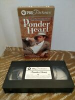The Ponder Heart VHS Peter Macnicol Novel By Eudora Welty PBS Pictures Rare HTF