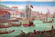 Nord America Canada Quebec collection de Prospects guarda riquadro negoce Leizel 1780