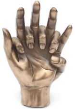 Hands Of Love 8th / Eighth Bronze Anniversary / Engagement or Wedding Gift NEW