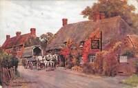 uk841 the bell inn salford priors evesham horse uk
