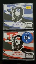MADONNA AMERICAN LIFE AUSTRALIAN CD SINGLE 1 AND 2 MINT AND STILL SEALED !!