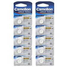 CR1220  Batterie Knopfzelle Camelion 10 Stk. 3V Lithium DL1220 5012LC E-CR1220