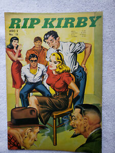 Rip Kirby #15 (1969, Cambridge) Spanish-language reprint, King Features content