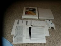 "Microsoft Flight Simulator IBM PC 3.5"" disks Complete in Box"