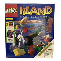 LEGO Island 3D Action Adventure CD-ROM Game (PC 1997) Big Box New Factory Sealed