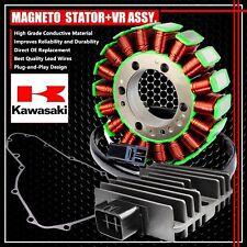 06-11 NINJA/VERSYS 650/ER6N MAGNETO COIL STATOR+VR VOLTAGE REGULATOR+GASKET ASSY